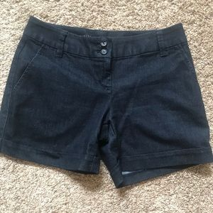 Limited Tailored Denim Shorts